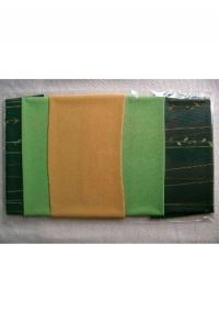 Flowers on a string, grün-gelb